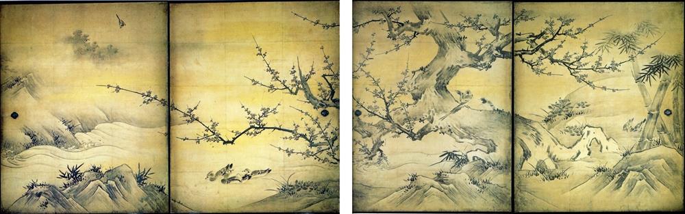 細膩鳥語花香工筆畫!日本最大畫派「狩野派」鮮為人知的動植物寫生_02