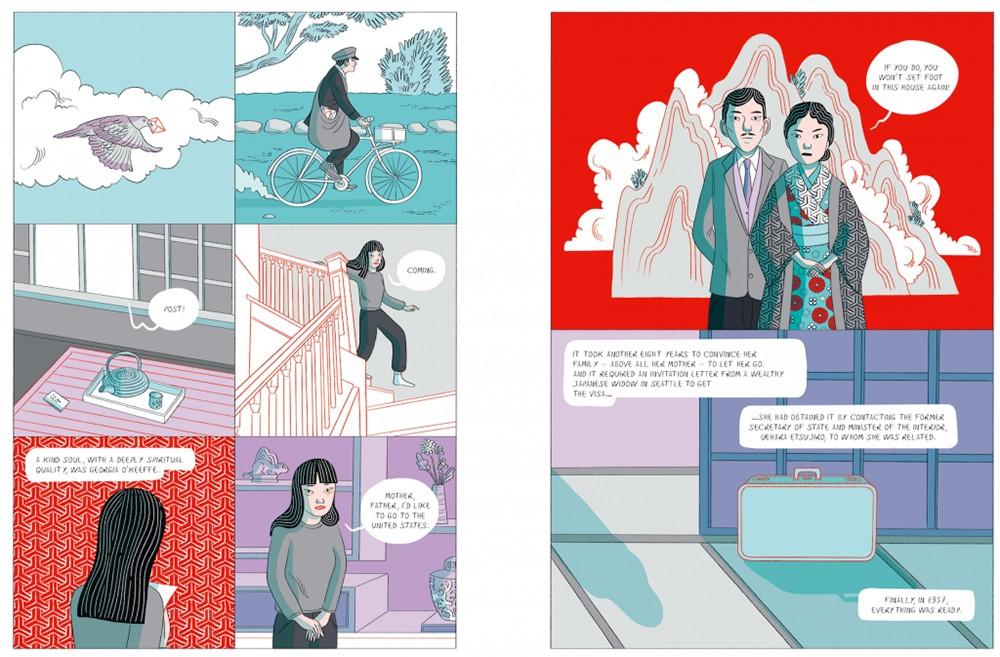 草間彌生傳記漫畫出版!義大利籍泰裔插畫家以紅白圓點訴說圓點女王的生命歷程3