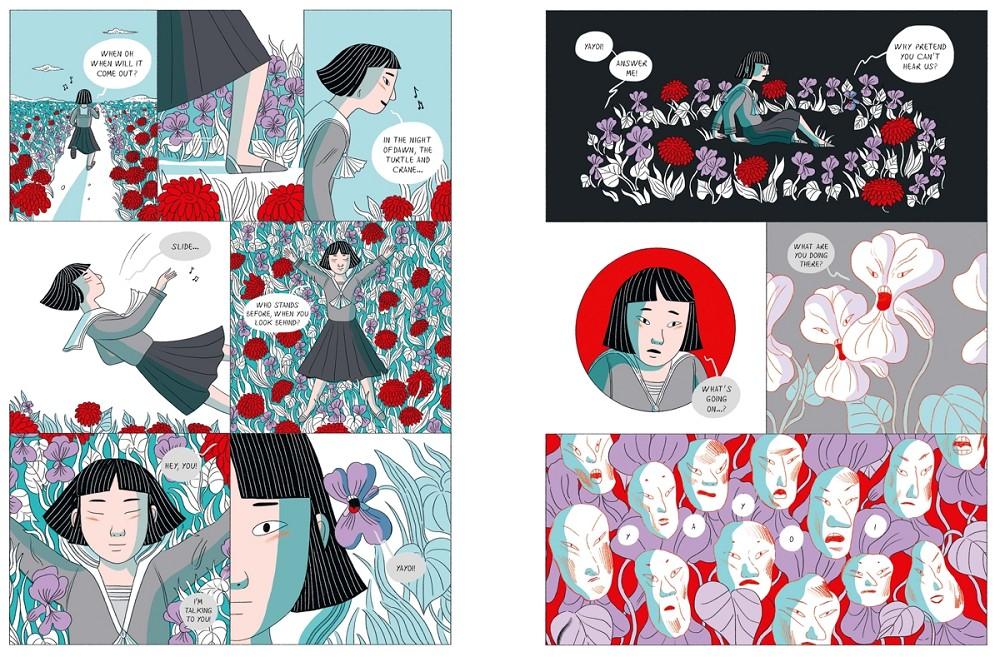 草間彌生傳記漫畫出版!義大利籍泰裔插畫家以紅白圓點訴說圓點女王的生命歷程4