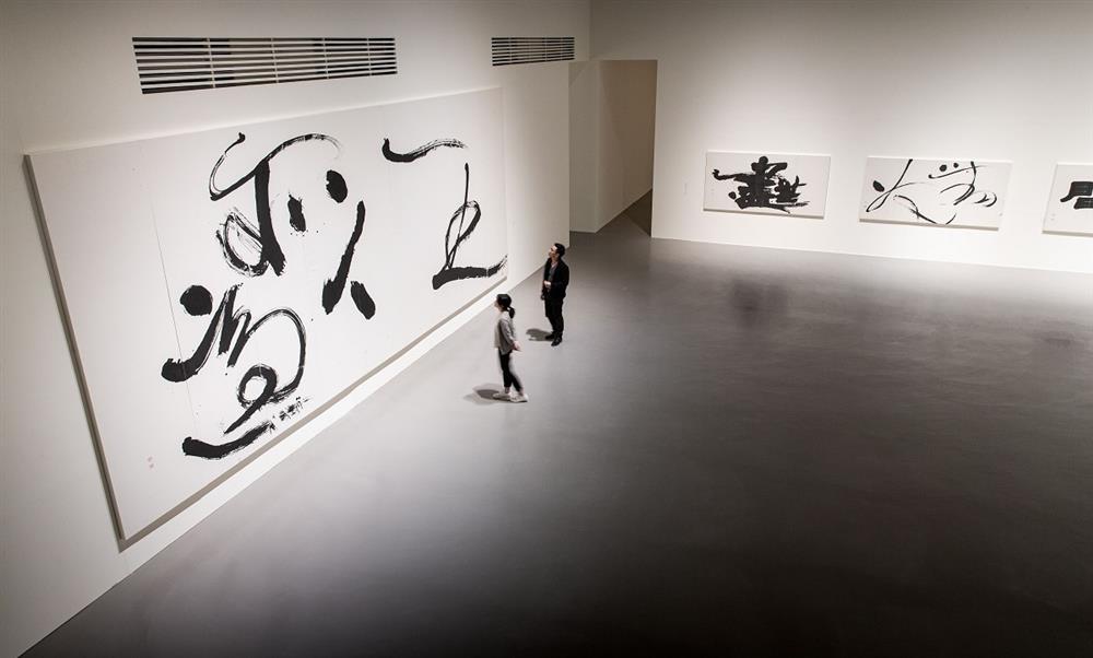 《董陽孜:行墨》展場©北美館TFAM