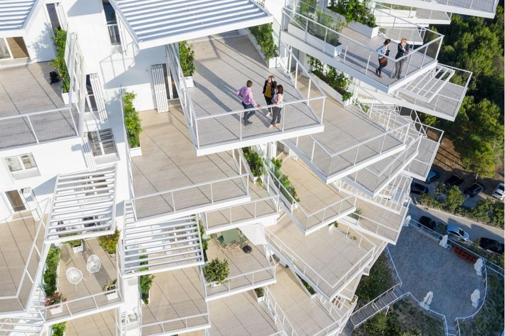 藤本壯介打造南法「白樹」綠意建築6