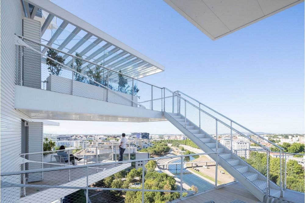 藤本壯介打造南法「白樹」綠意建築7