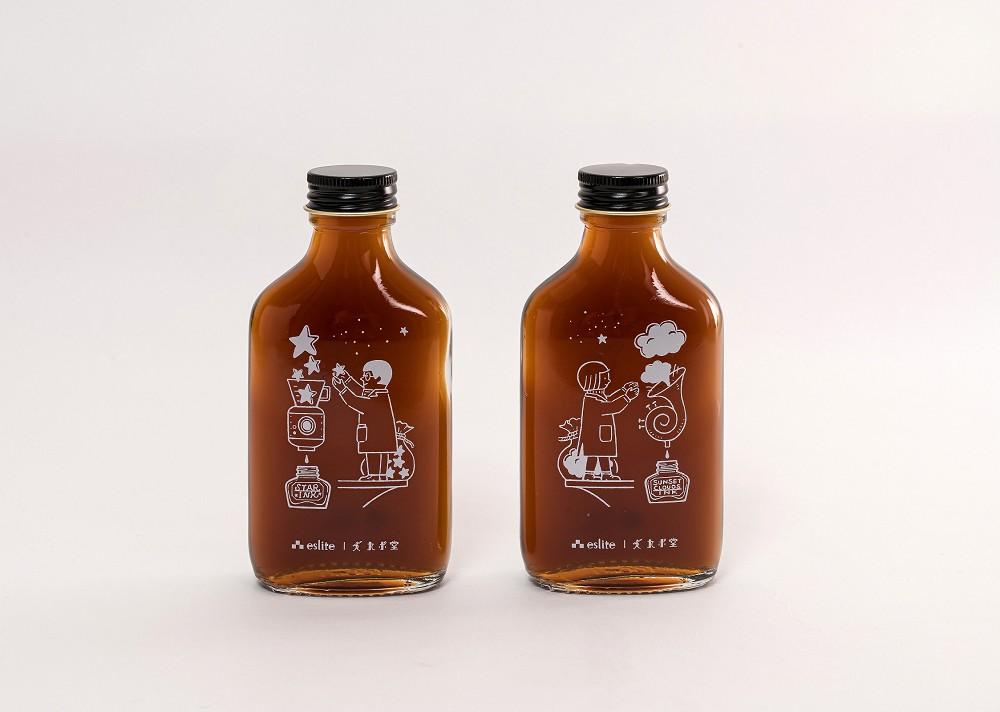 誠品聯手文青咖啡品牌沛洛瑟與九ポ堂推出兩款「冷萃墨水咖啡」,定價109元|誠品書店