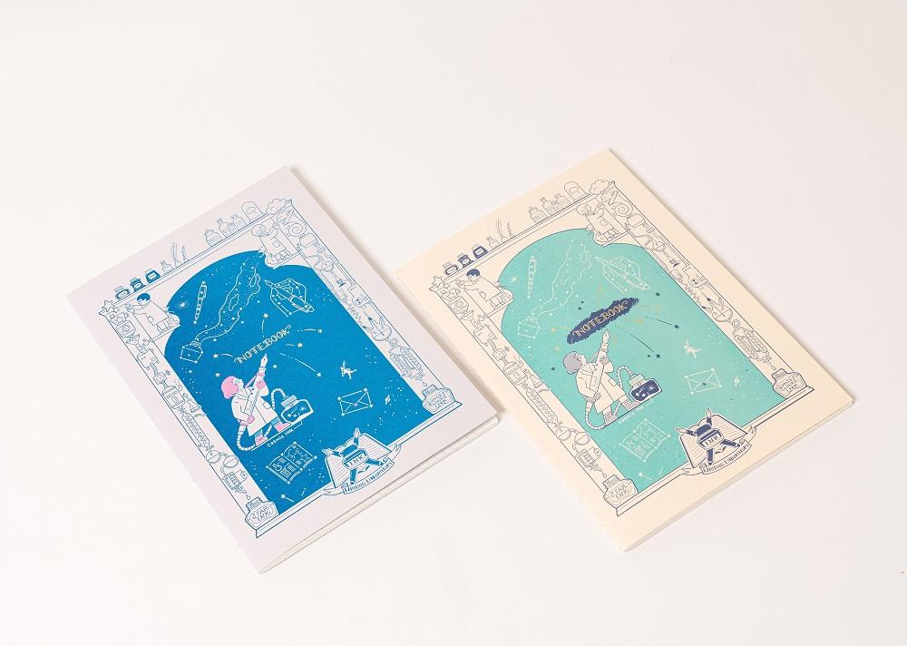 誠品首次與日本文具盛會秒殺話題品牌「九ポ堂」跨海合作,獨家推出展場LiFE聯名筆記本。