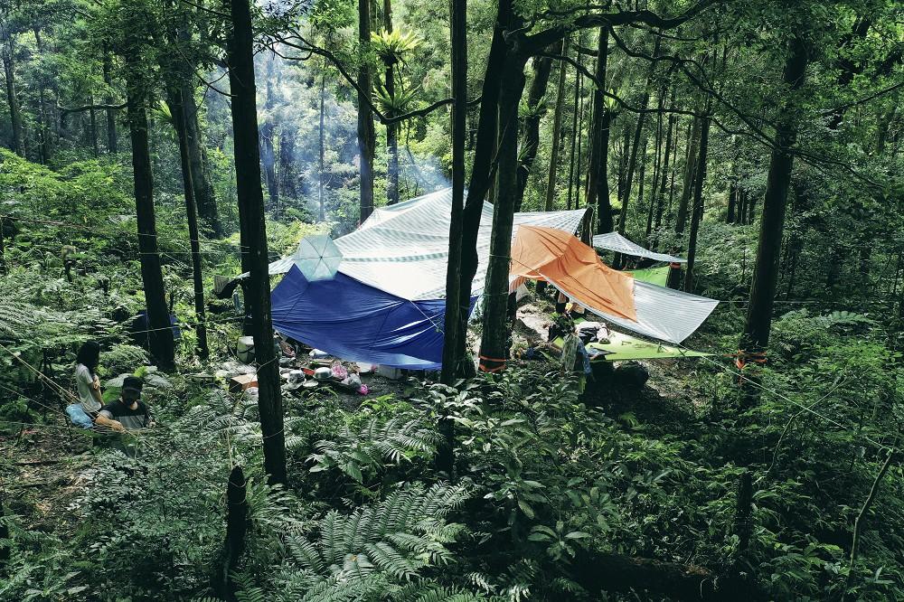那結山獵寮森林空拍