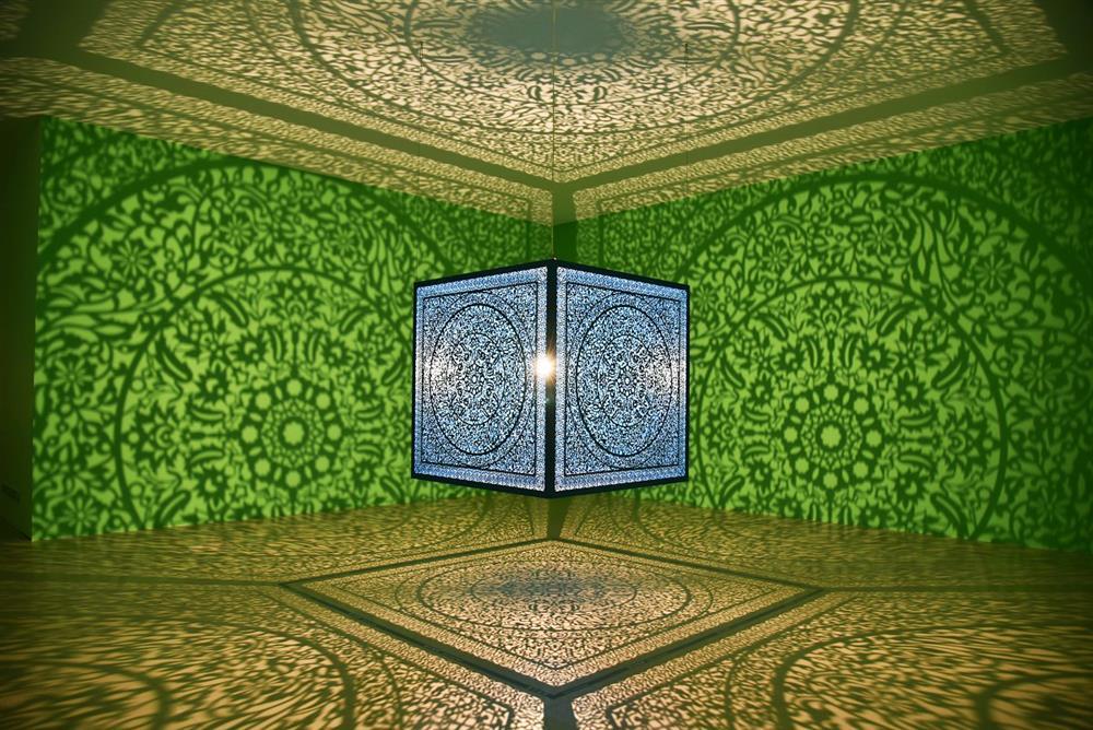阿嘎作品《給自己的花-青綠色》牆面添綠意-1_1