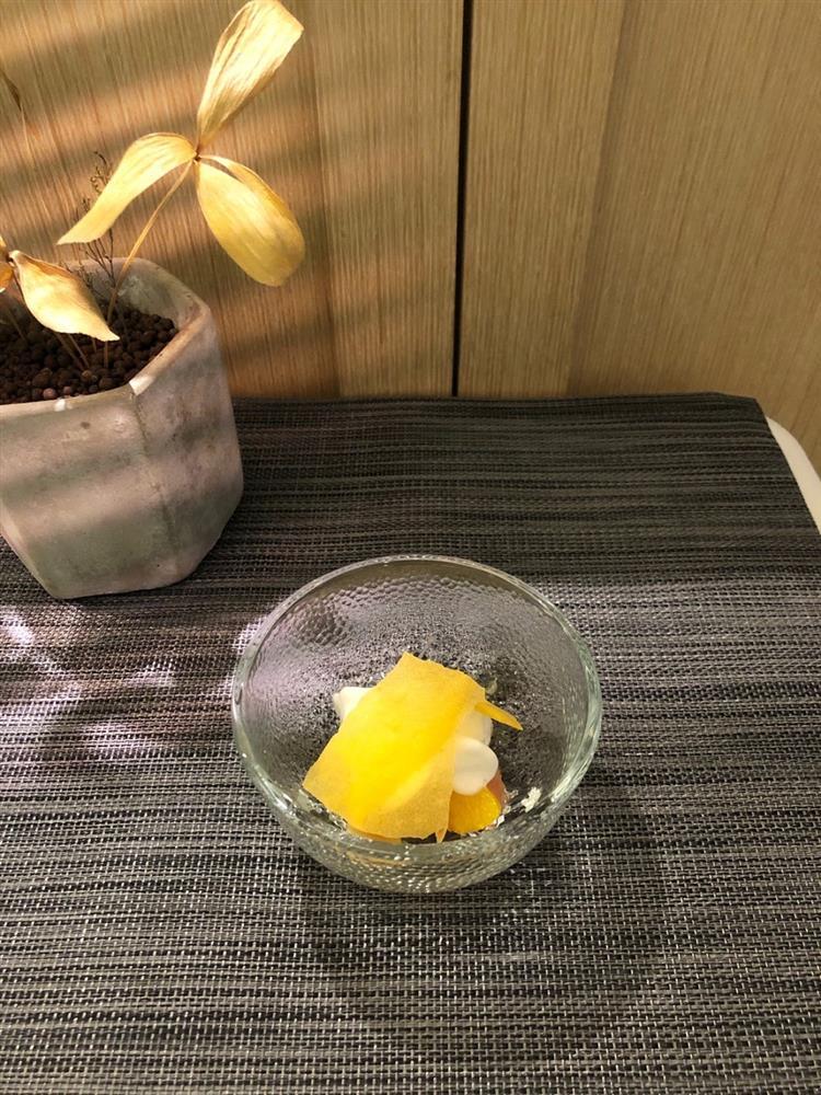 青田藝集瑞典月菜色圖(Pre-dessert柑橘與檸檬2)