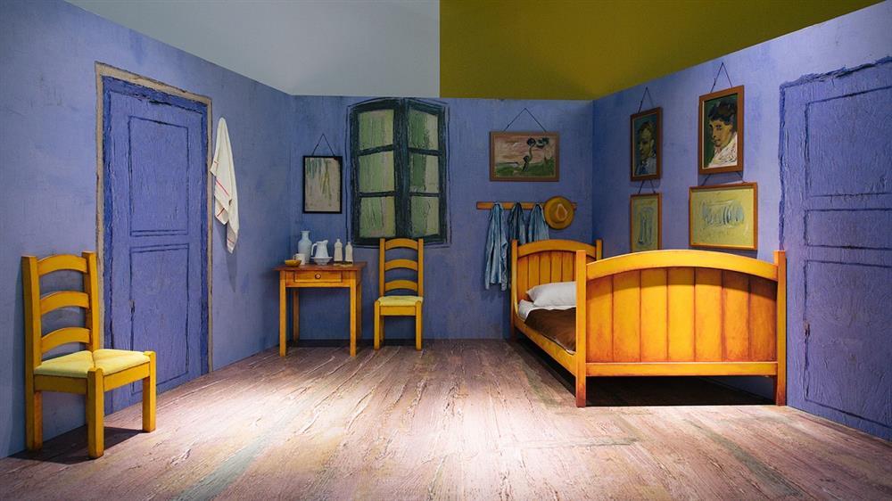 靜態展示區_梵谷名作「亞爾的臥室」重現印象派巨匠創作地