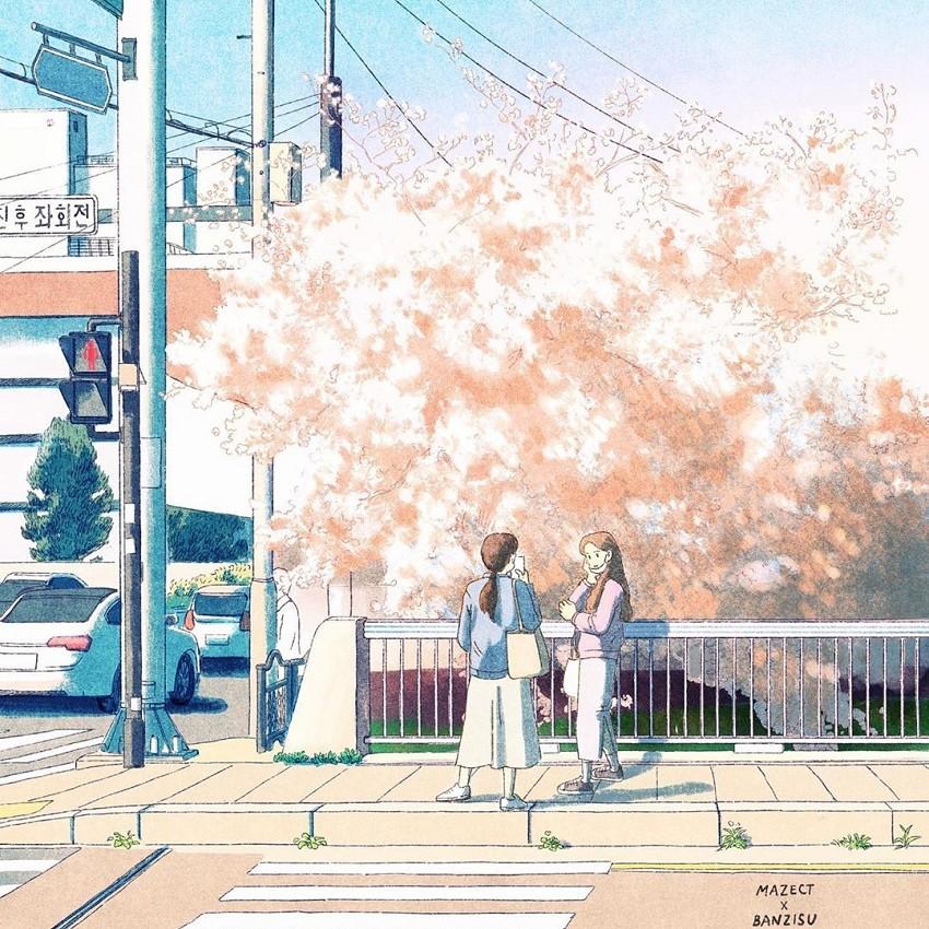 韓國插畫家Banzisu療癒畫作!_08