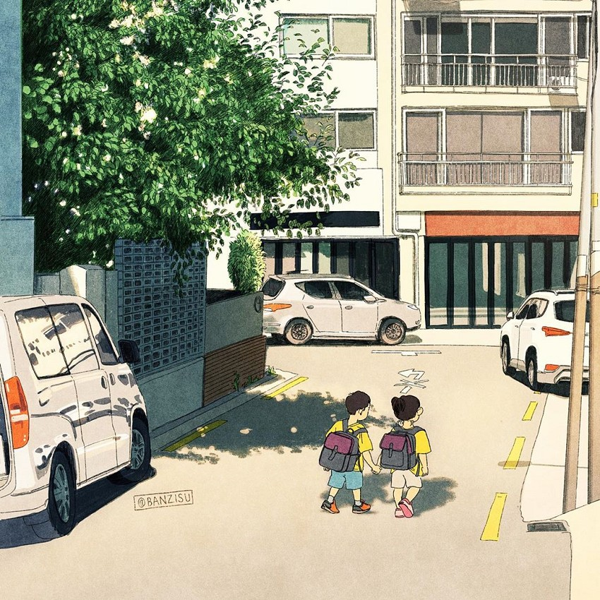 韓國插畫家Banzisu療癒畫作!_06