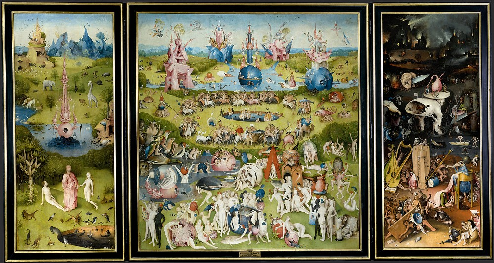 館藏|波希《人間樂園》1490-1500年