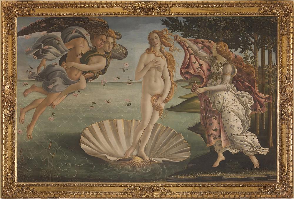 館藏|波提且利《維納斯的誕生》約1485年