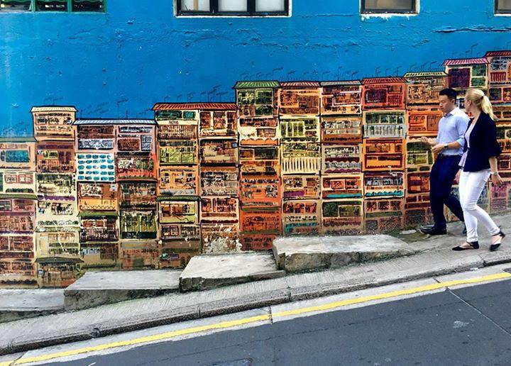 飽覽藝術香港城 胡朝聖如入無牆美術館