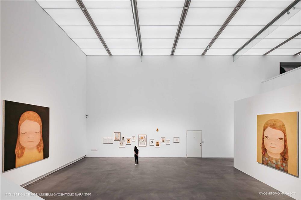 高美館《奈良美智特展》展場一景_1(圖片來源:主辦單位–文化總會、高美館)