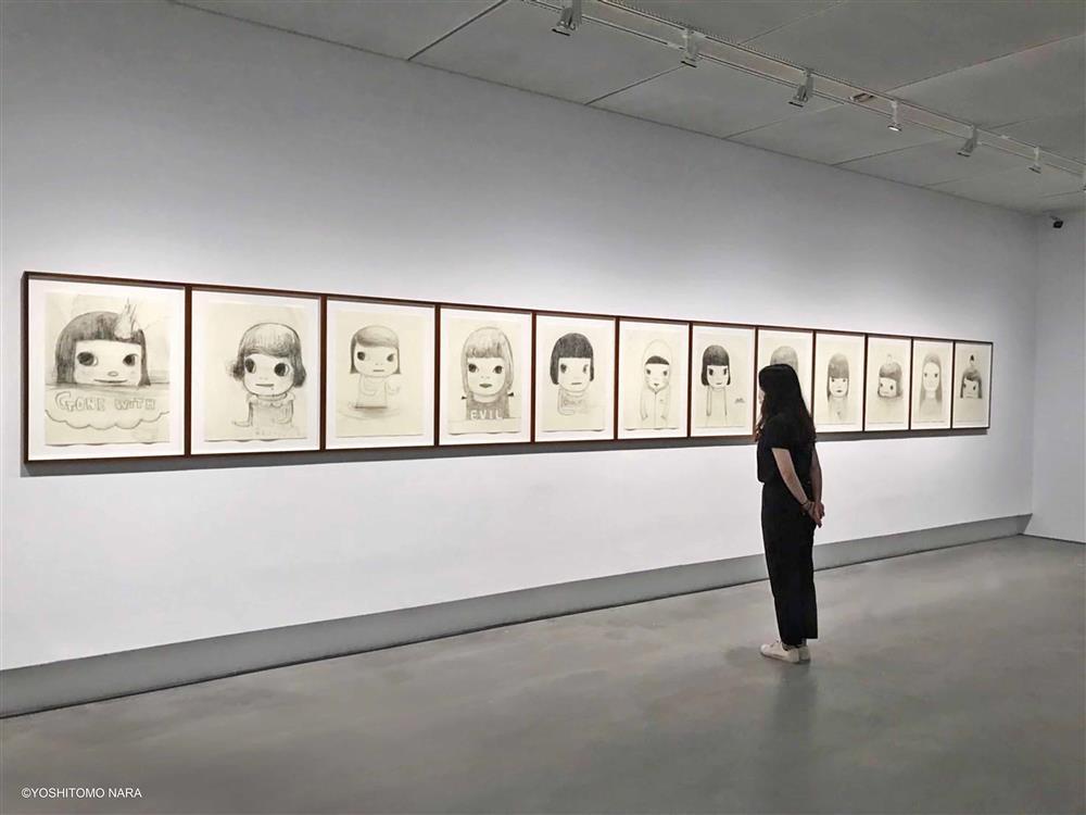 高美館《奈良美智特展》展場一景_4(圖片來源:主辦單位–文化總會、高美館)