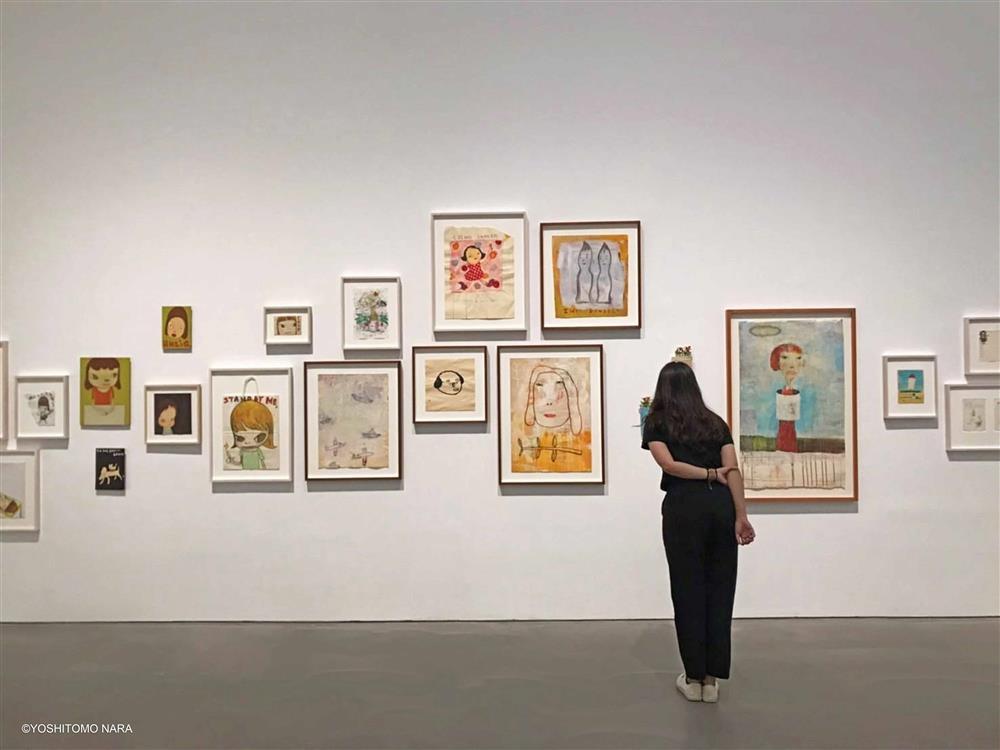 高美館《奈良美智特展》展場一景_5(圖片來源:主辦單位–文化總會、高美館)