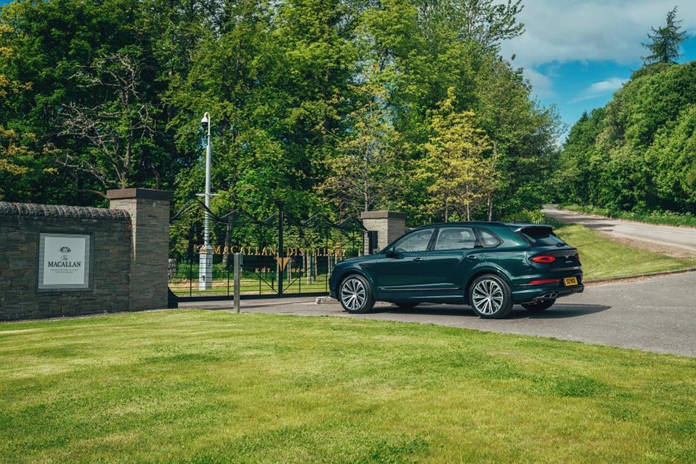 麥卡倫與賓利汽車攜手踏上非凡旅程-麥卡倫莊園大門