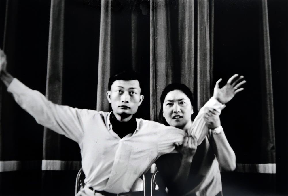 黃華成,《先知》劇照,1965,©莊靈,臺北市立美術館提供。
