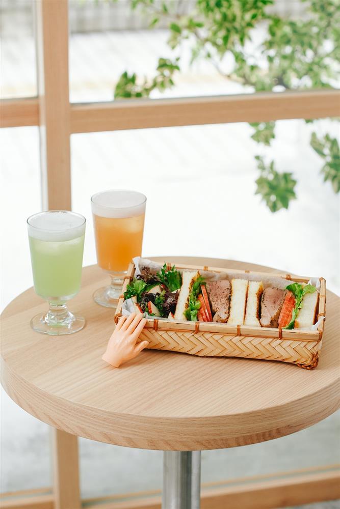 (一)百香果醬汁烤豬排三明治