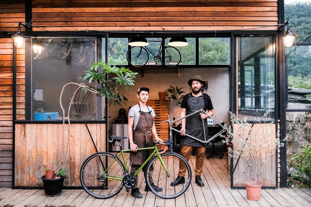 來北投Light Houtse做單車一台屬於自己的單車