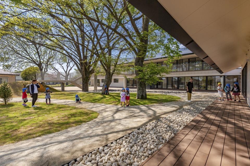 日本九州MRN幼稚園以「羈絆」為養分的自然學習空間_04