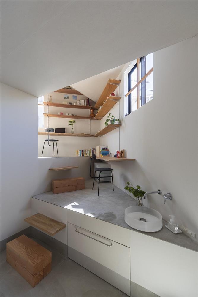 3層樓高卻有16層空間!大阪「高槻の住居」設計住宅_15