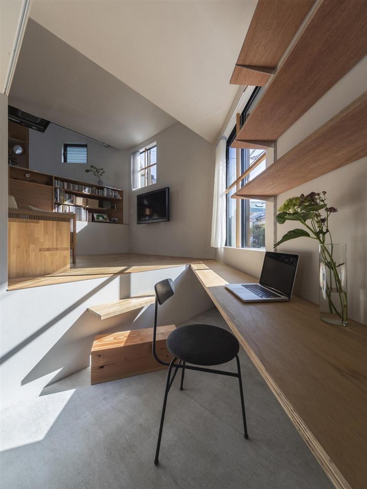 3層樓高卻有16層空間!大阪「高槻の住居」設計住宅_10