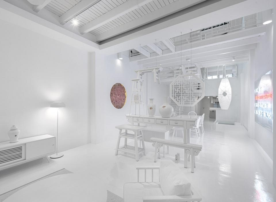 白色控的理想住宅!新加坡Canvas House揉合現代與傳統建築風情的共享公寓