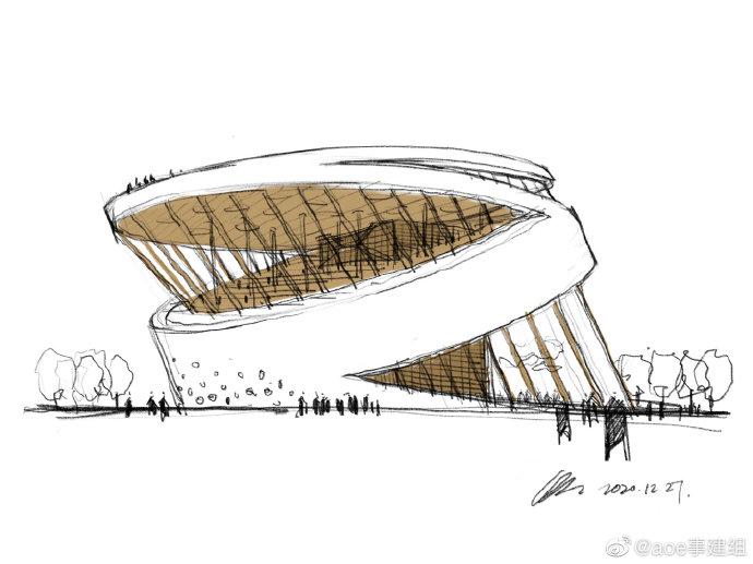 韓國松島新公共圖書館設計競賽「傾斜概念」超吸睛!冬暖夏涼的設計巧思4