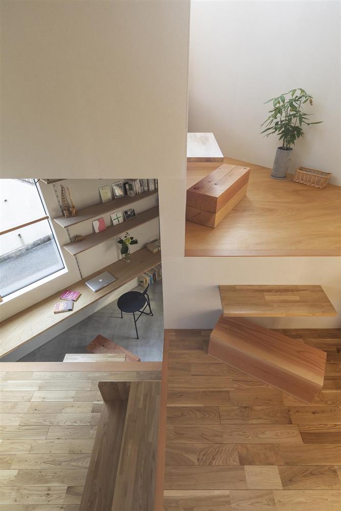 3層樓高卻有16層空間!大阪「高槻の住居」設計住宅_09