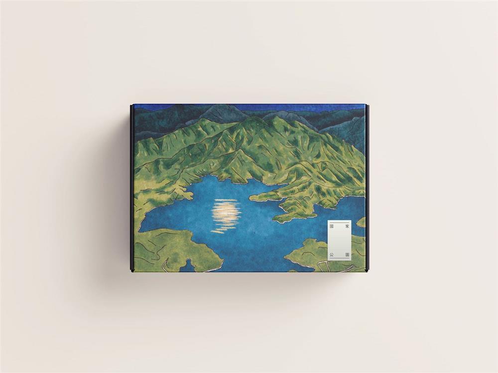 01國家公園山的呼喚禮盒正面