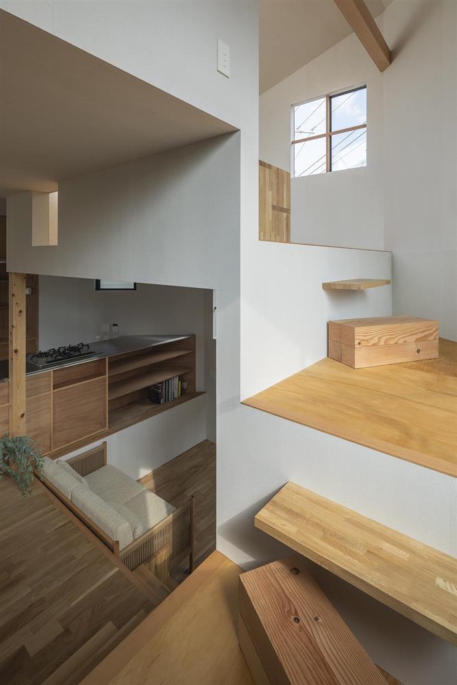 3層樓高卻有16層空間!大阪「高槻の住居」設計住宅_12