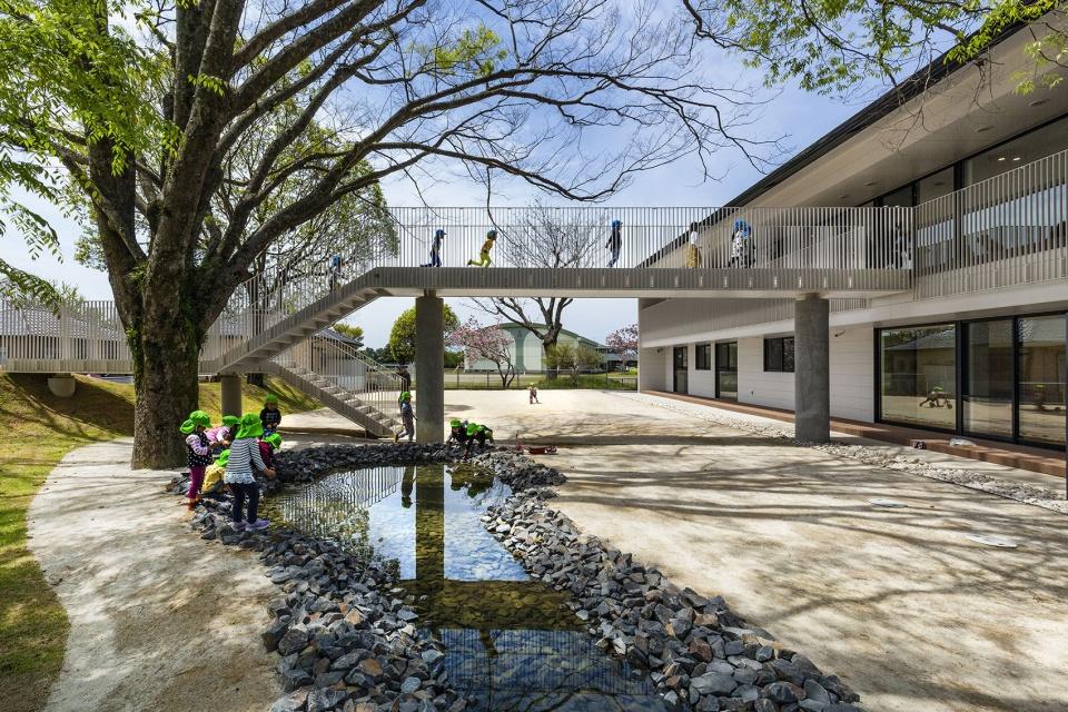日本九州MRN幼稚園以「羈絆」為養分的自然學習空間_03