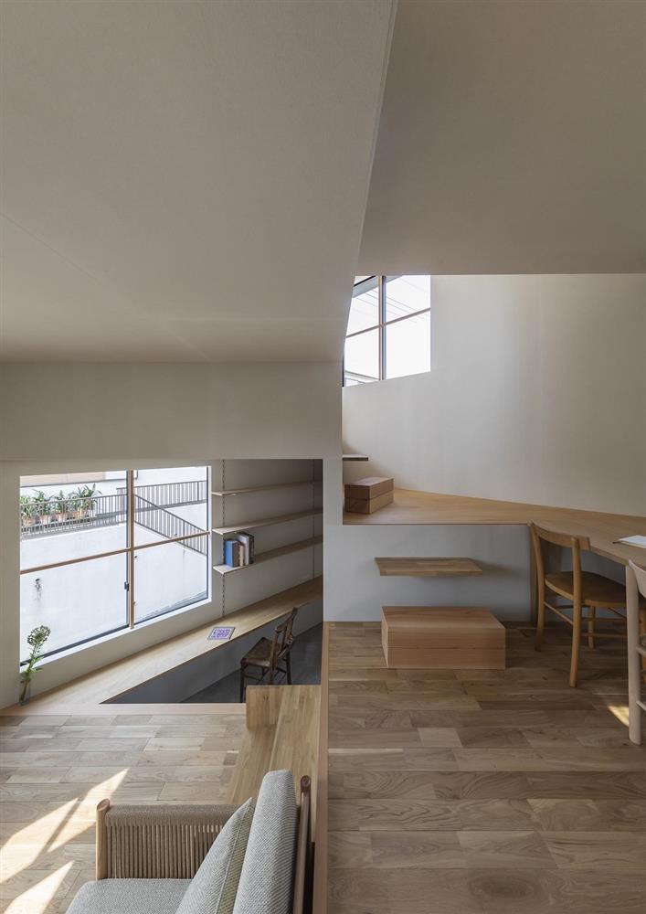 3層樓高卻有16層空間!大阪「高槻の住居」設計住宅_11