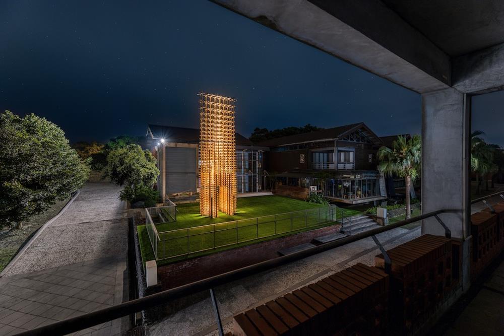 「魯班塔」宜蘭傳藝中心新地標!范承宗操刀以傳統工藝技法的數位演繹18