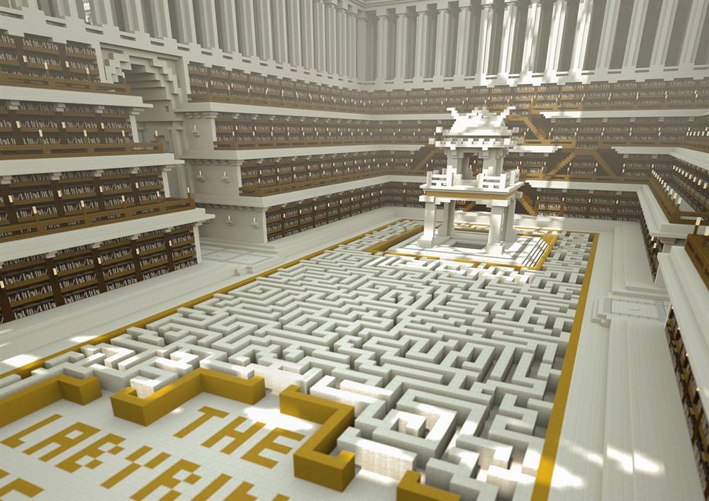 無國界記者打造「不受審查圖書館」!在Minecraft虛擬世界創建新聞自由的避風港