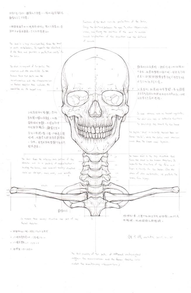 鍾全斌《骨骼之書》