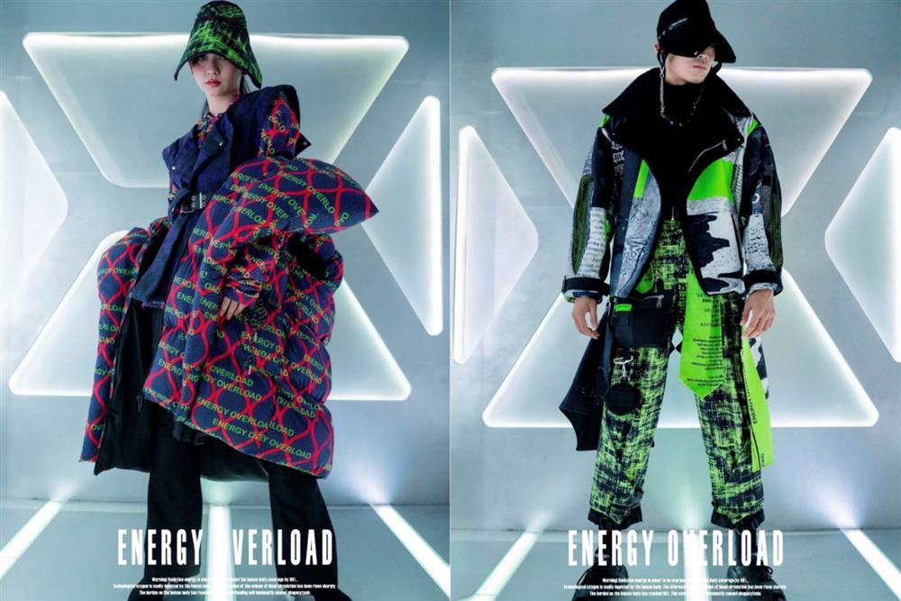 1時尚設計類:「全球性警報-W」(張雅婷、王俊傑、方曉恩、謝鎧如、鄭伃庭,樹德科技大學流行設計系)
