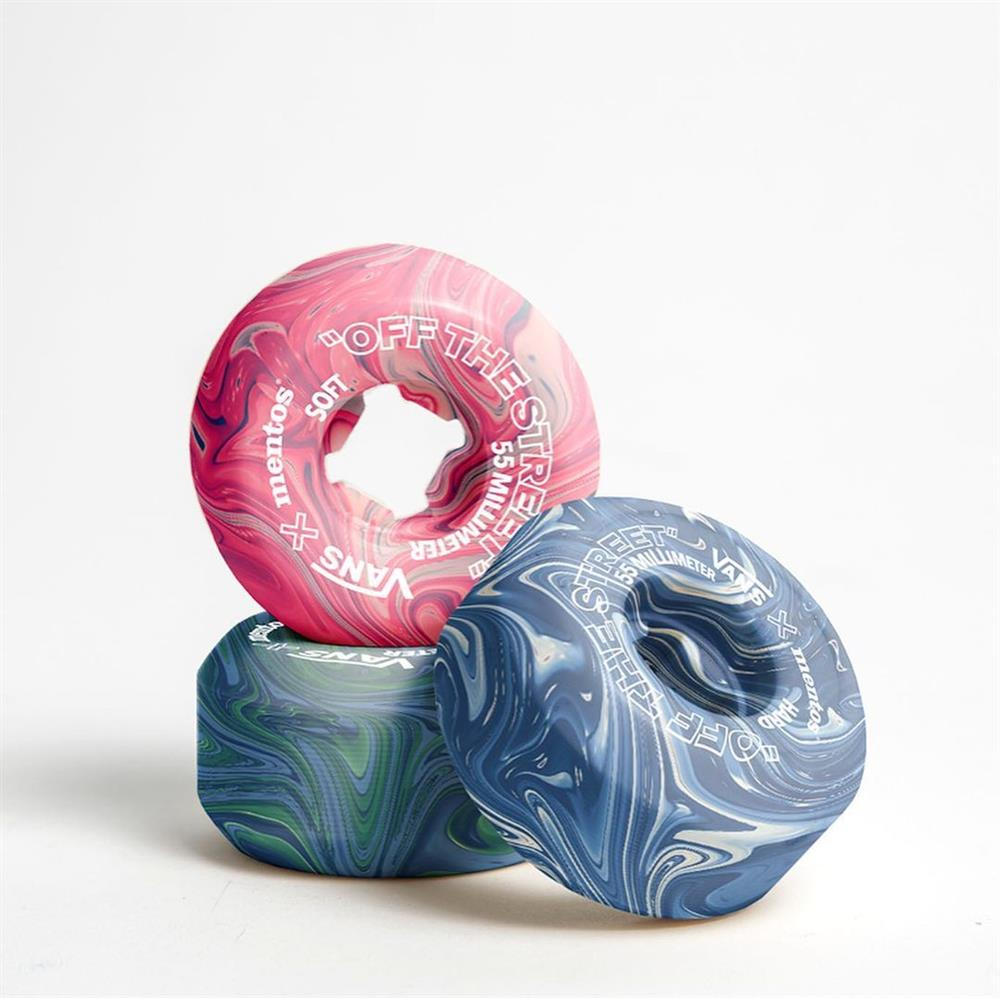 口香糖製成的滑板輪胎!環境友善設計、有望與VANS、Mentos合作_05