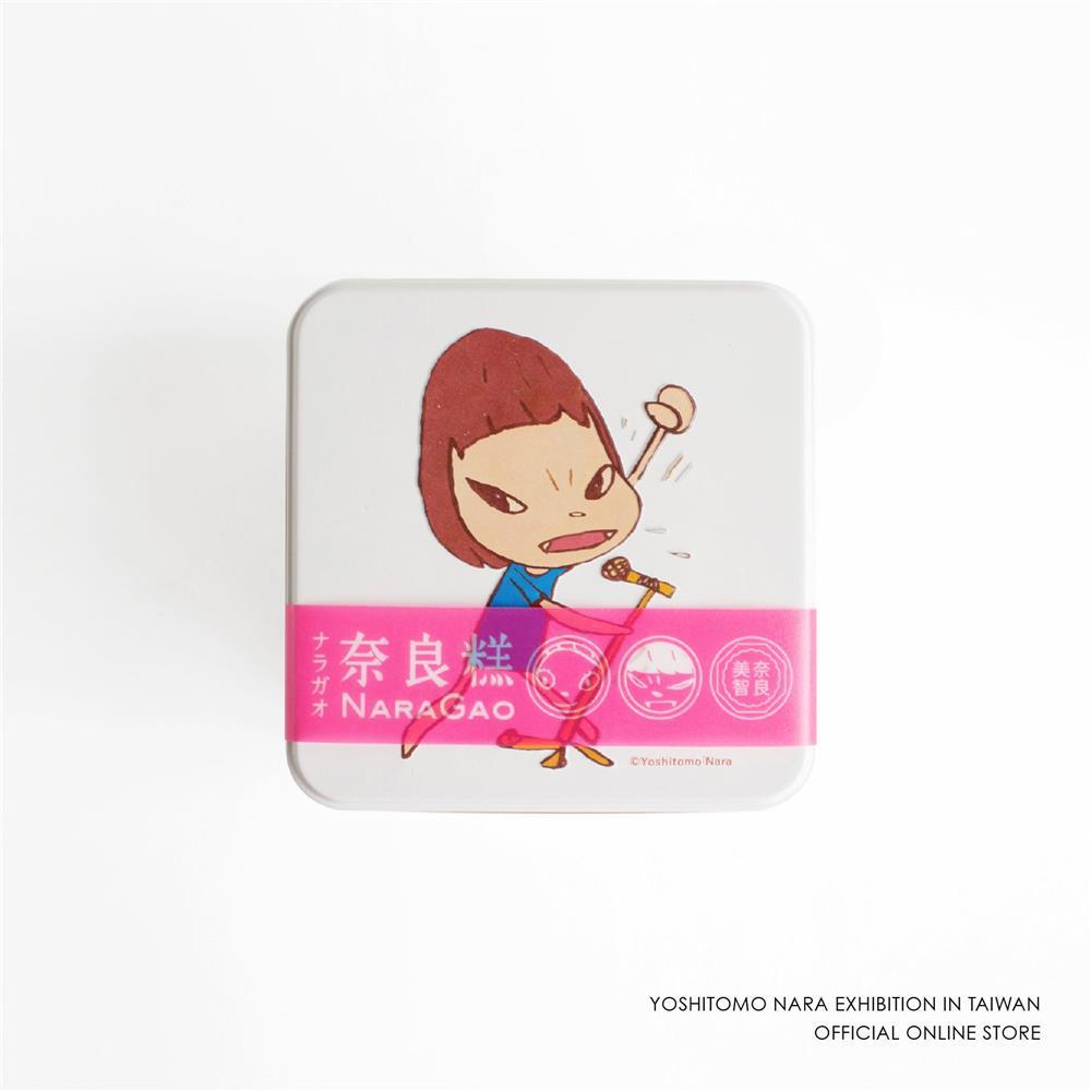 奈良糕_奈良美智特展周邊商品!台灣獨家「奈良糕」、鑰匙圈、明信片等台灣限定商品