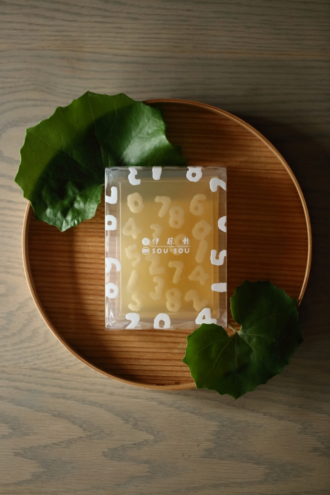 SOU‧SOU攜手伊藤軒打造透明和菓子「わらび羹」1IMG_01