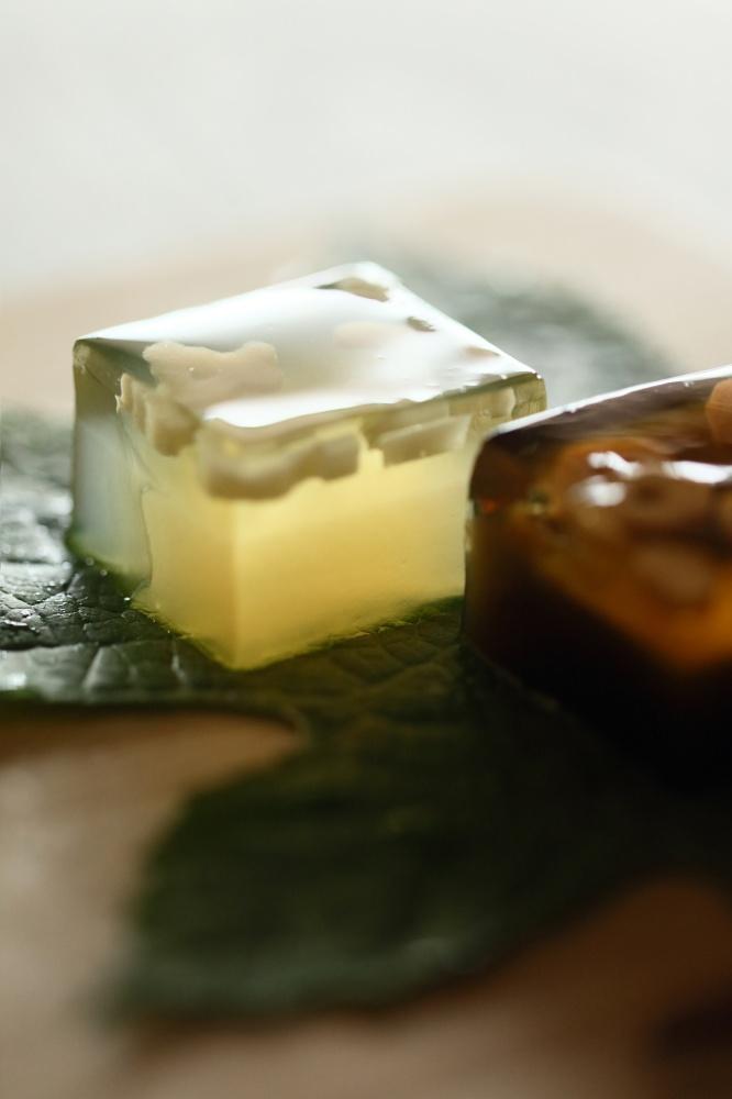 SOU‧SOU攜手伊藤軒打造透明和菓子「わらび羹」1IMG_04