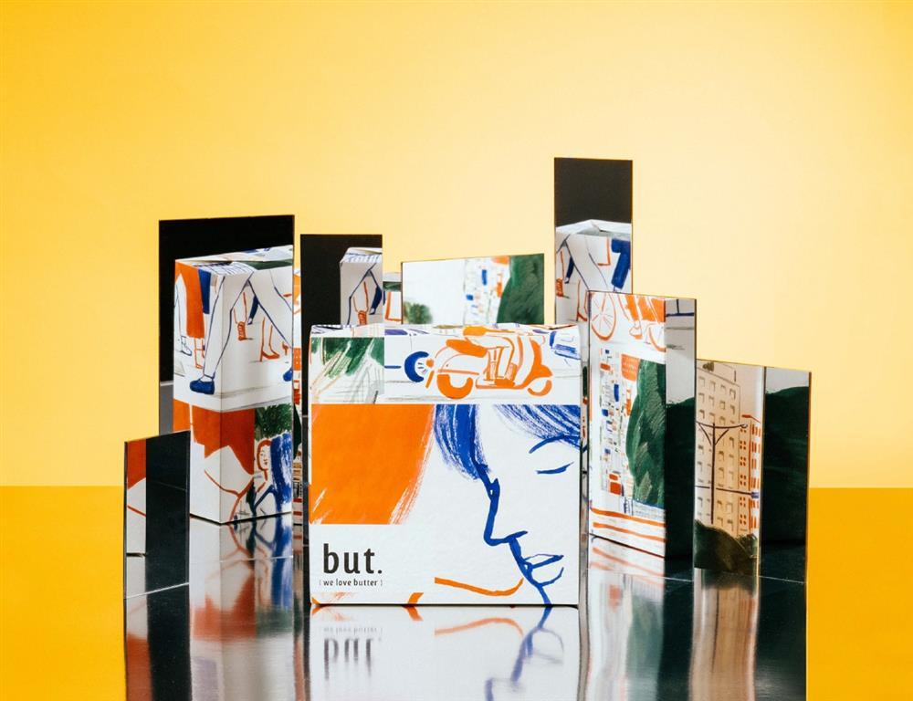 but. we love butter推5款限定包裝!張藝、火山販賣鋪等5位藝術家跨界聯名1KIM2
