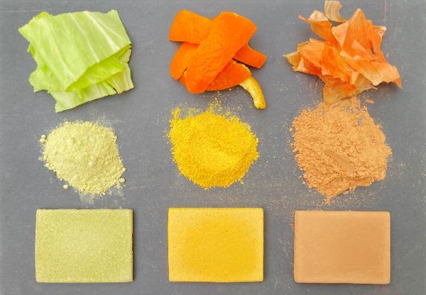 蔬果廢棄物變身植物性新材料!能保留原料顏色與香氣、當作建材使用-02