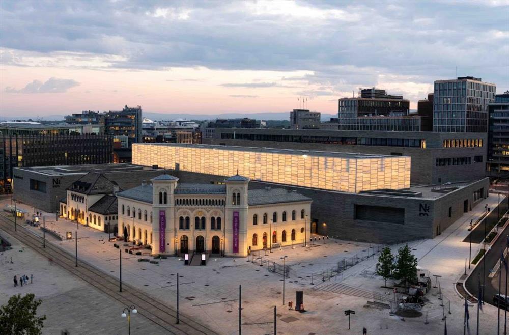 北歐最大規模的挪威國立美術館2022年6月11日開幕01