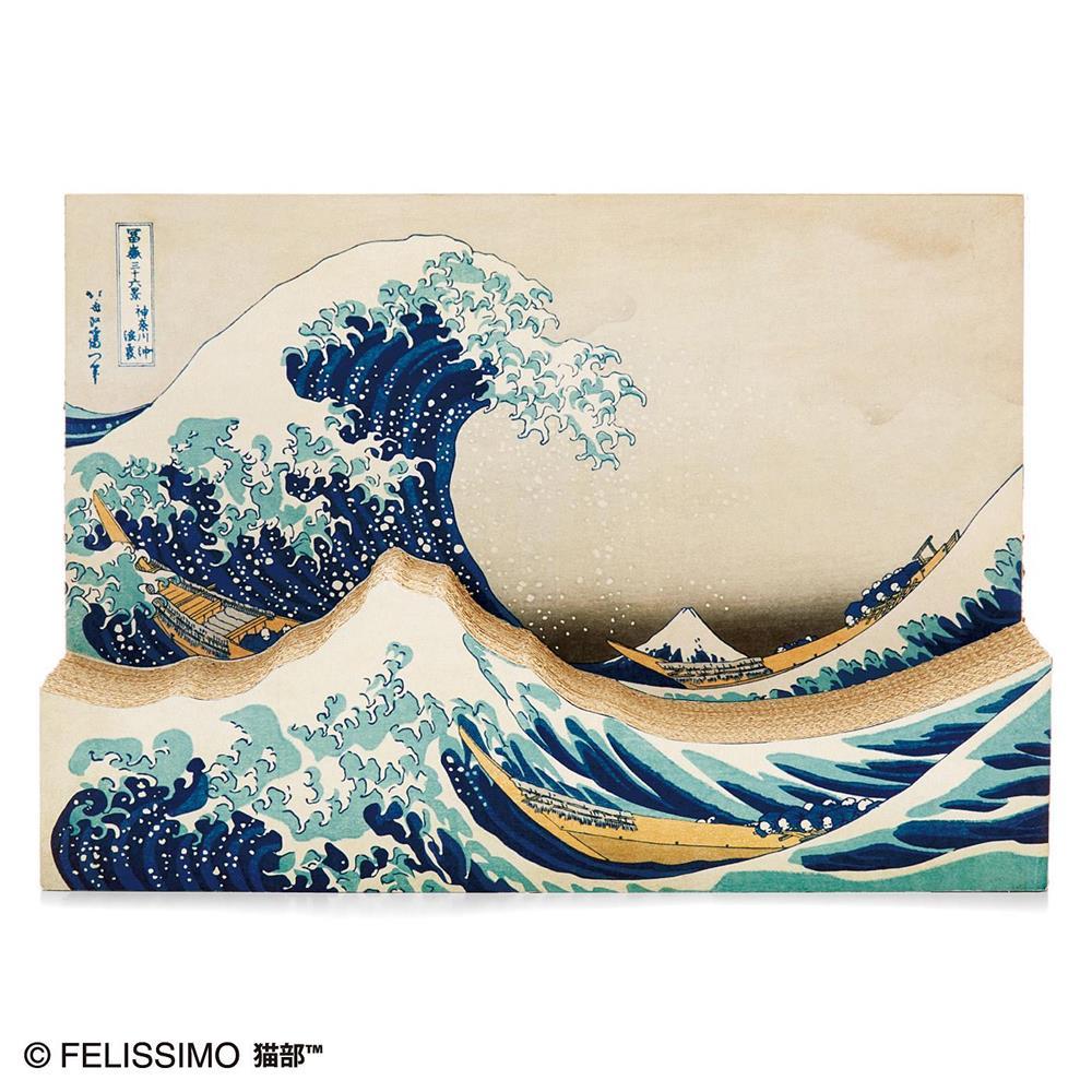 貓抓板、近江牛變身浮世繪名作!搖身一變成家中藝術品的日本創意設計_03