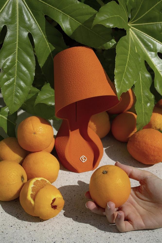 橘子皮製成的「Ohmie」3D列印檯燈1_31