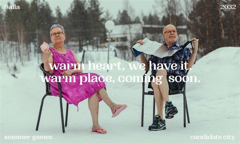 芬蘭salla2032夏季奧運地球暖化廣告1_warm_heart-min