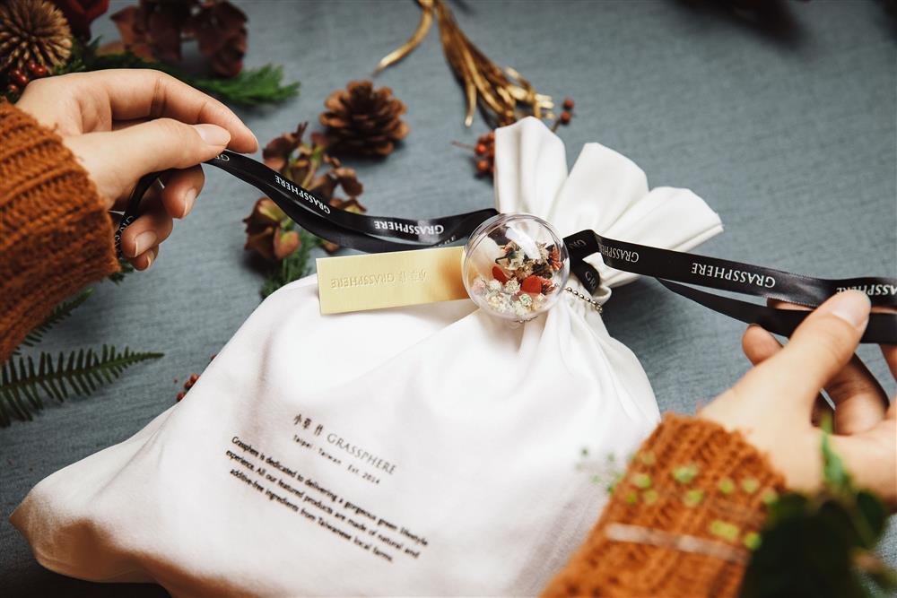 2-收到小草作聖誕交換禮物,感受滿滿聖誕氛圍,讓抽中禮物的親友暖心度過歲末聖誕