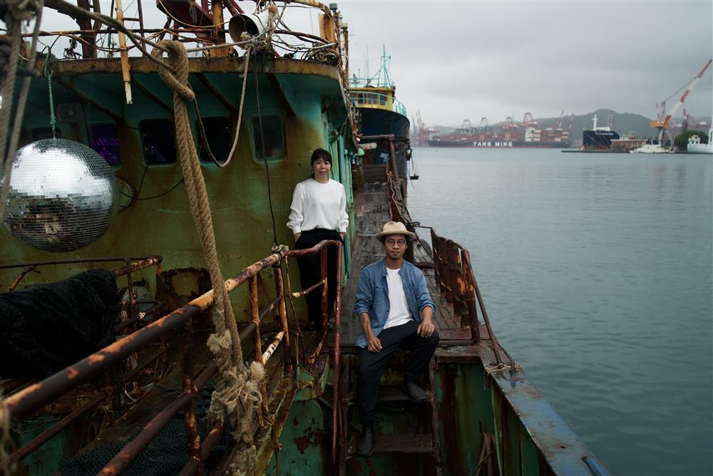2020基隆潮藝術_宜東文化執行長羅健毓(左),策展人陳彥安(右)